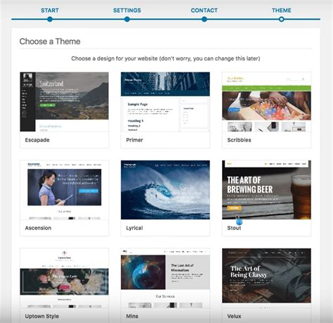 themes godaddy godaddy launches new onboarding experience for wordpress