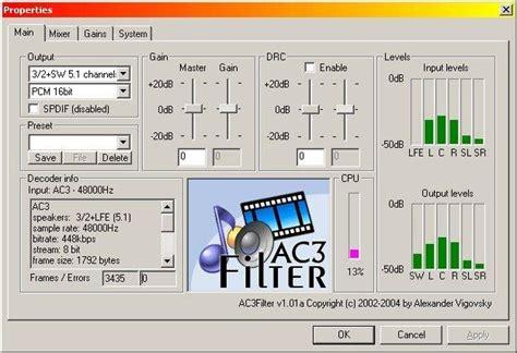Format Audio Dolby Ac3 | codec 8192 divx for mac