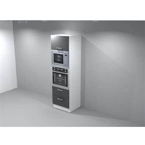 meuble colonne frigo four