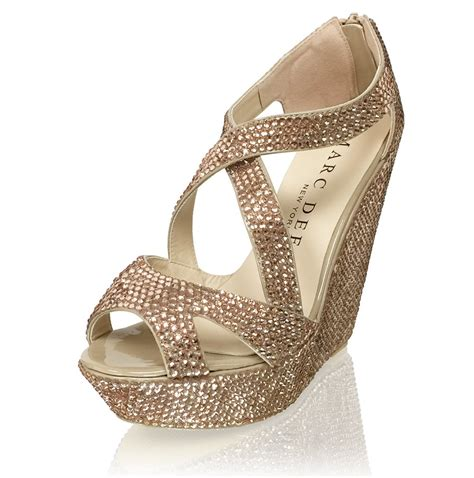 wedges wg 1484 new arrival 5 5 quot heels luxury bridal strappy platform wedges