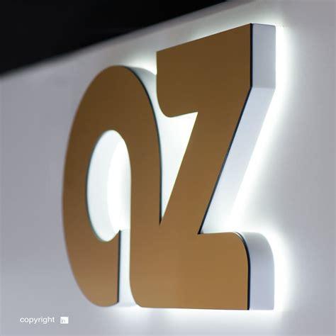 lettere luminose a led lettere scatolate illuminazione posteriore insegne