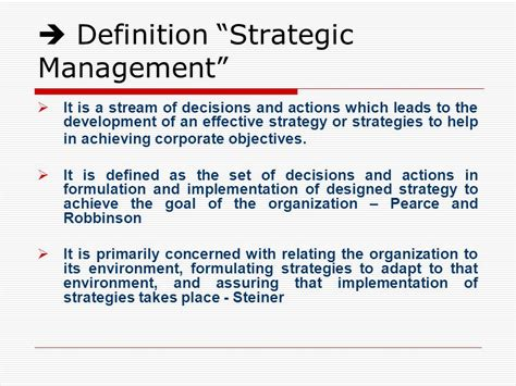 Of Mba In Strategic Management by Summary Of Mba Strategic Management January 2016 Strategic