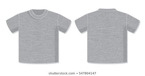 Heather Grey Images Stock Photos Vectors Shutterstock Grey T Shirt Template