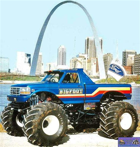 Bigfoot In The St Louis Arch 4x4 S Trucks
