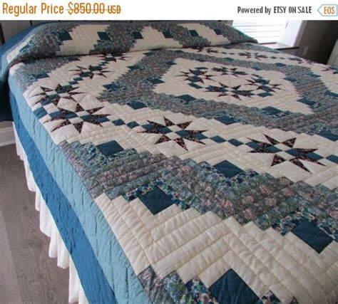 Handmade Quilts For Sale King Size - 17 best ideas about teal quilt on quilt