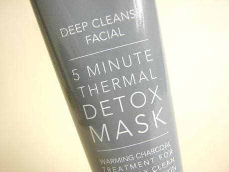Paper Detox Black Masks by Sanctuary Spa 5 Minute Thermal Detox Mask Paperblog
