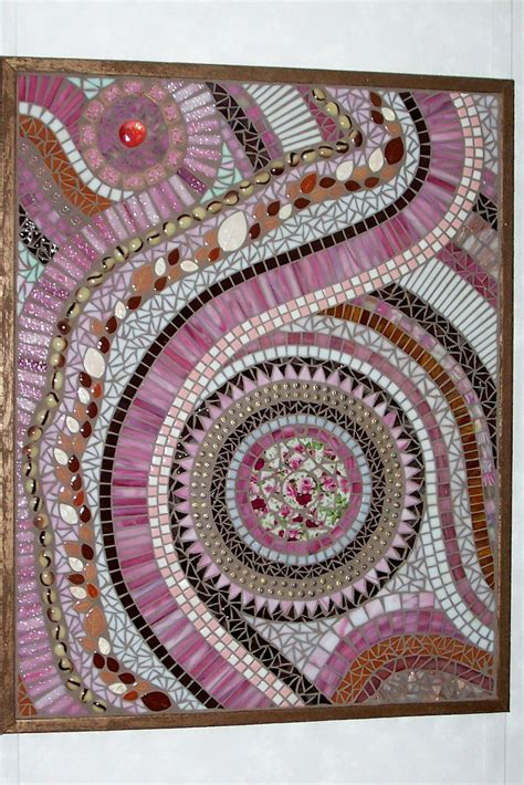 abstract mosaic pattern neapolitan stained glass mosaic wall art