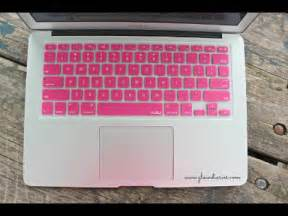 pink macbook decorate your laptop re upload