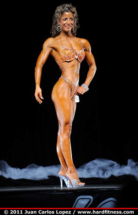 Overall Michele shepherd wins the overall title for figure at the