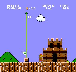 The World Is Ending 1 image world 1 1 mario bros end png mariowiki