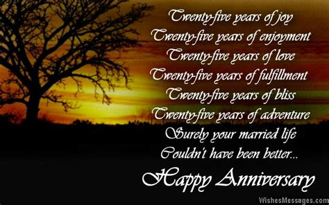 25th wedding anniversary quotes to my husband 25th wedding anniversary quotes happy quotesgram