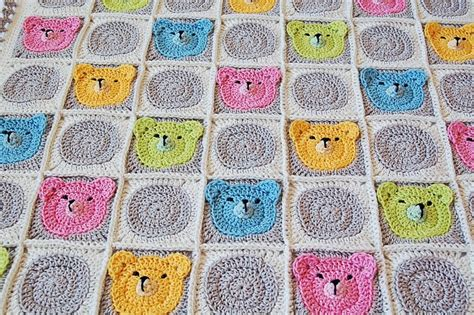 Baby Square Blanket by Dada S Place Crochet