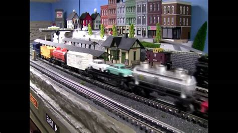 lionel layout youtube lionel layout classic postwar trains youtube
