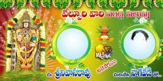 Wedding Banner Editor by Teluguquotez In Indian Wedding Telugu Wishes For Couples