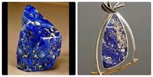 Batu Lapis Lazuli Biru Tua batu mulia permata gemstone sodja store