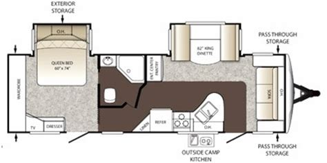 outback rv floor plans 2012 keystone outback 260fl trailer reviews prices and