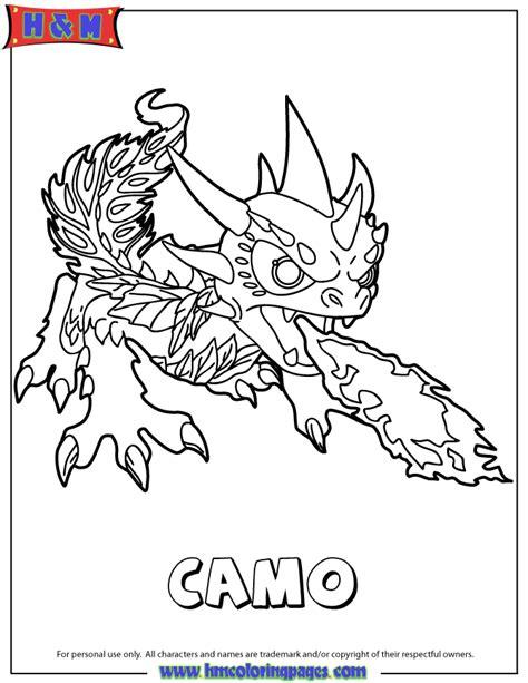Skylanders Spyros Adventure Life First Edition Camo Skylander Boy And Coloring Pages
