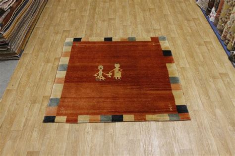 7x7 Square Area Rugs by Thick Pile Square Modern 7x7 Gabbeh Area Rug