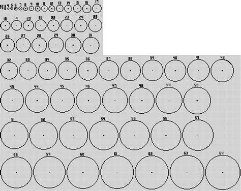 high res circle chart  bigger circles minecraft