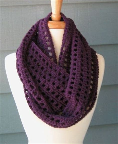 crochet pattern infinity scarf easy infinity scarf patterns to crochet free crochet patterns