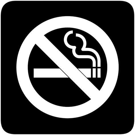 no smoking sign black background image vectorielle gratuite non fumeur fumer cigarette