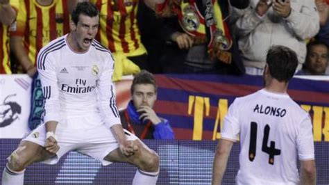Beat Co For Real In by Gareth Bale Helps Real Madrid Beat Barcelona In Copa