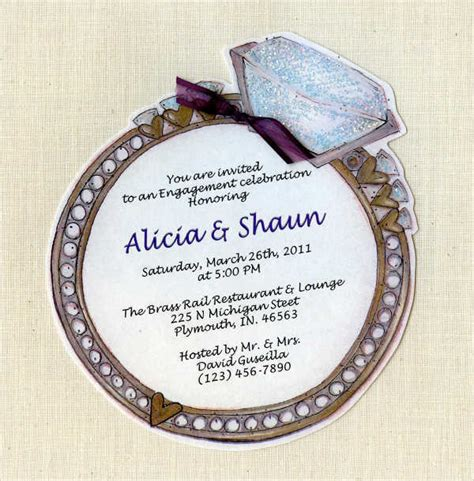 ring ceremony invitation card template free ceremony invitation sle free premium templates