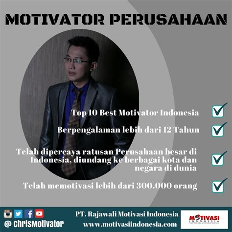 film motivasi untuk salesman motivator perusahaan christian adrianto motivator