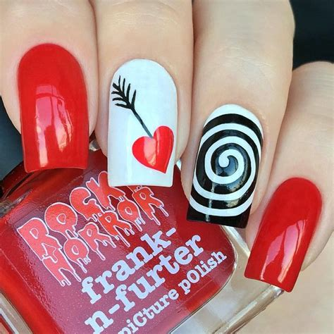 valentines day nail 50 s day nail ideas and design