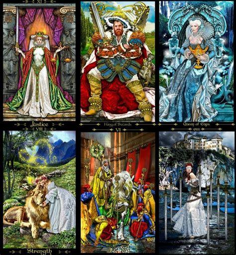 Oracle and Tarot Cards - TAROT OF THE ILLUMINATI