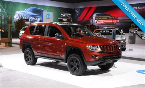 jeep compass lifted mopar jeep compass true north concept almost looks ready