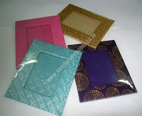 How To Make Photo Frames With Handmade Paper - handmade paper photo frames handmade paper picture frame