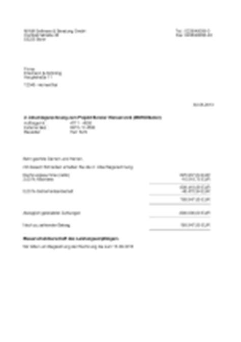 Musterrechnung Steuerschuldnerschaft Des Leistungsempfängers Mwm Zentrale