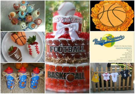 Sports Baby Shower Decorations by Sports Themed Baby Shower Ideas Baby Shower Ideas