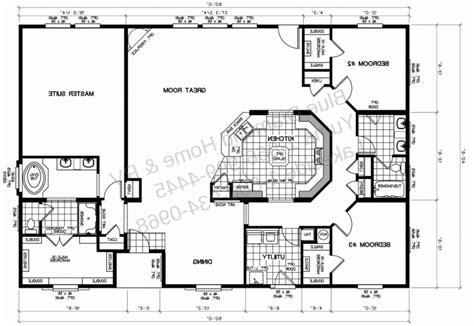 mobile home floor plans new home plans