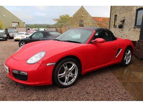 Red Porsche Boxster For Sale by Used Red Porsche Boxster 2008 Petrol 2 7 245 2dr