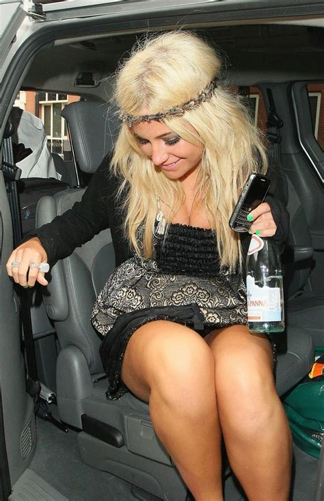 Gets Exposed by Pixie Lott Show In The Car Shamelesscelebs