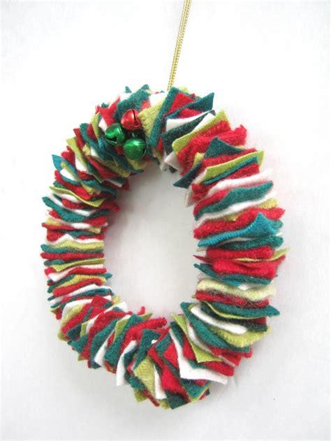 felt wreath felt wreath theme