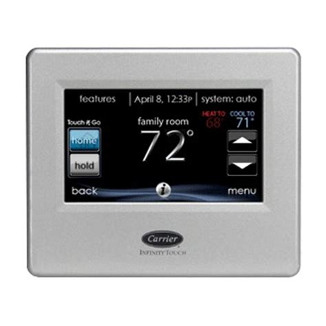 carrier infinity touch thermostat carrier infinity thermostats an overview of options
