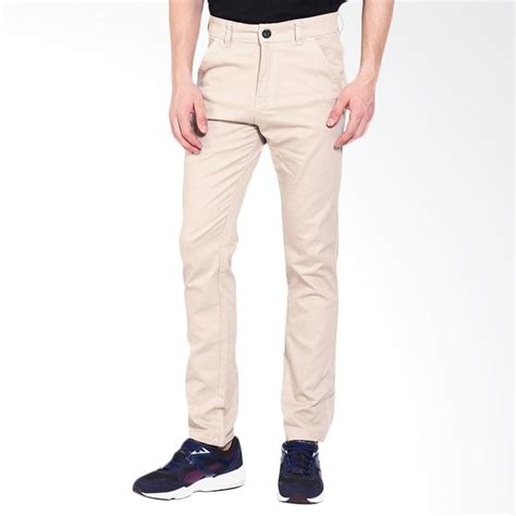 Celana Basic jual allends basic chinos celana pria khaki