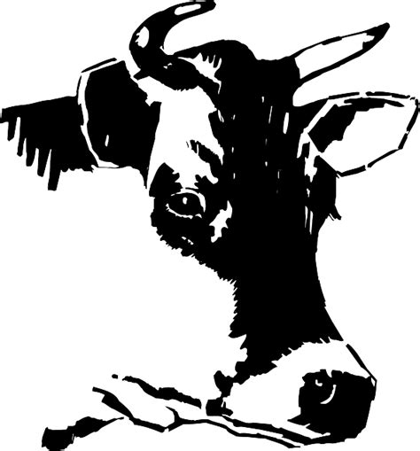 imagenes png vectores vector gratis vaca la cabeza cara l 225 cteos imagen