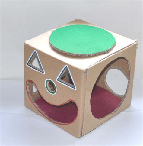Cardboard Papercraft - crafts with cardboards