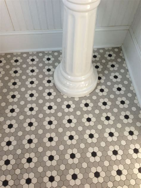 Mosaic Bathroom Floor Tile Ideas by Ceramic Mosaic Hex Tile Design Bathroom Tile