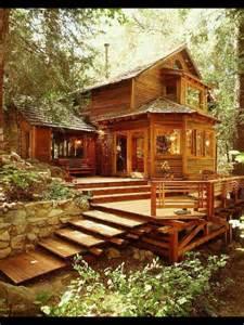beautiful decks beautiful deck wooden cabins pinterest