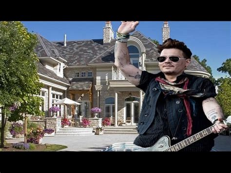johnny depp house johnny depp johnny depp s house tour 2017hd 63 million inside outside youtube