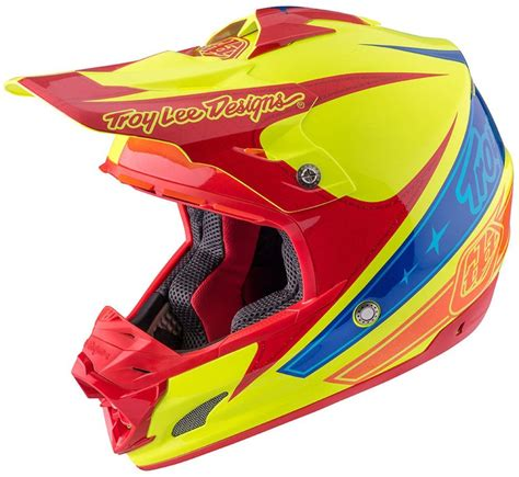 snell approved motocross 425 00 troy lee designs se3 corse 2 dot snell certified