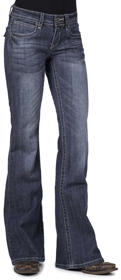 bootcut jeans for women on sale stetson women s 816 classic fit flap v pocket boot cut
