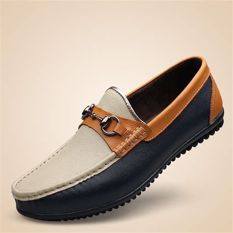 loafers for fashion 2015 new big 38 46 patent leather mens loafers for