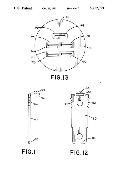 patent us5252791 ignition switch patents