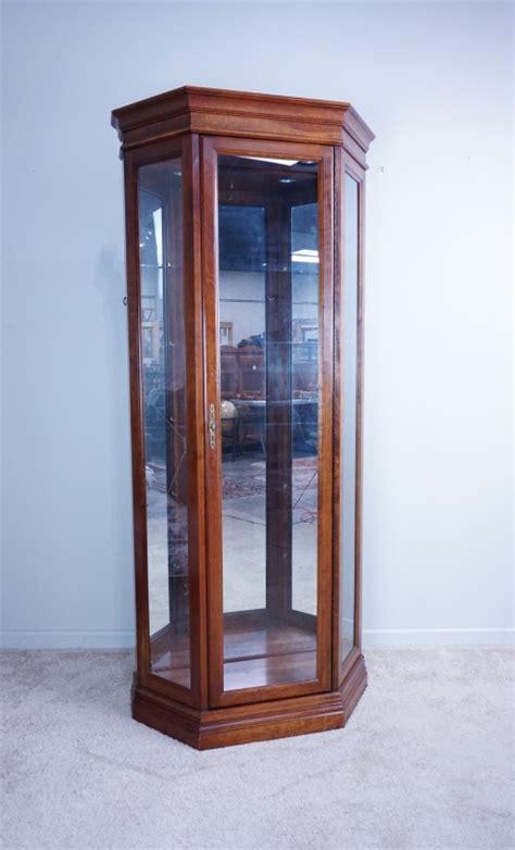 cherry wood curio cabinets jasper cherry wood curio cabinet
